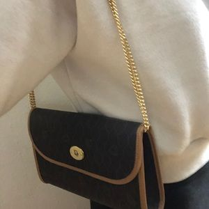 Rare find Vintage Dior honeycomb chain bag